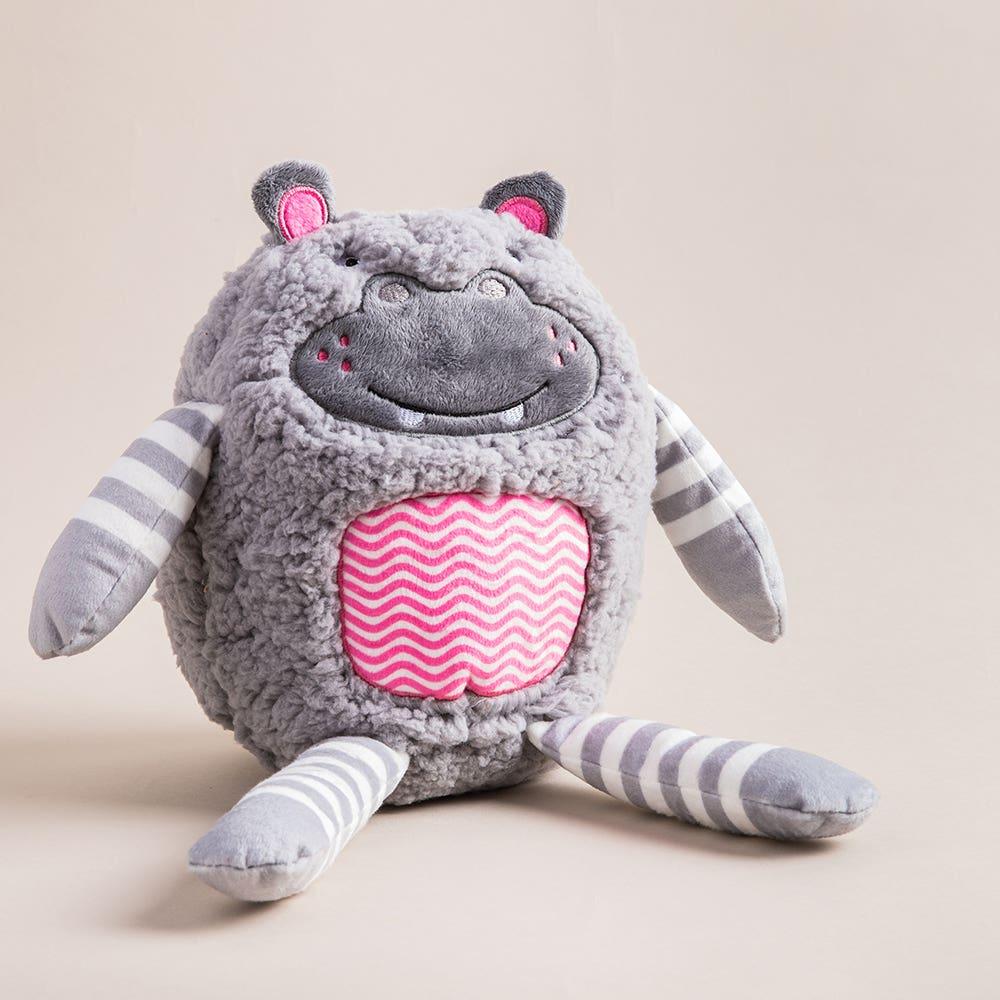 Aroma Home Hug-A-Snug 'Hippo' Microwaveable Body Warmer