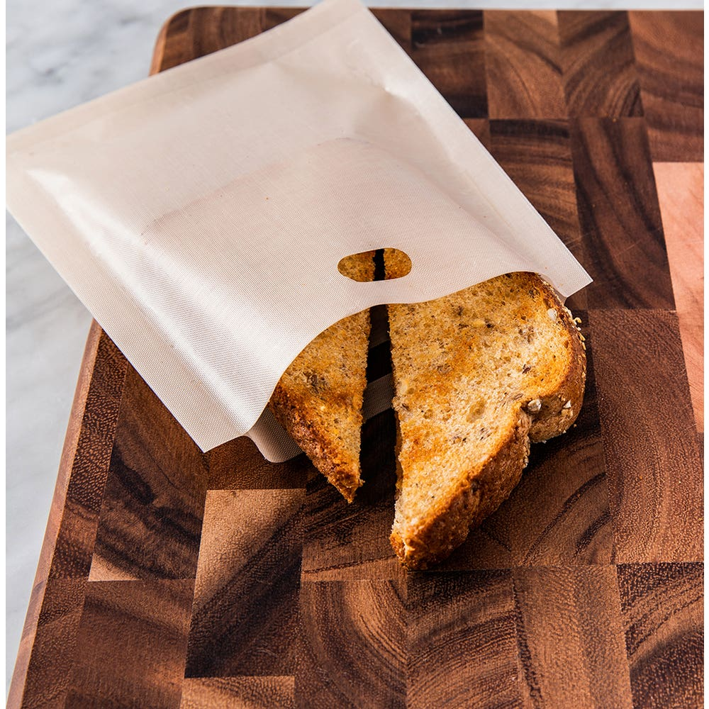 Joie No Mess Reusable Toaster Bag - Set of 4 (Clear)