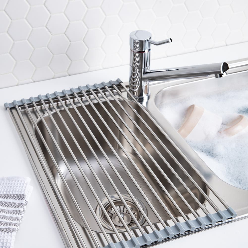 KSP Span Stainless Steel Sink Grill (Stainless Steelgrey)