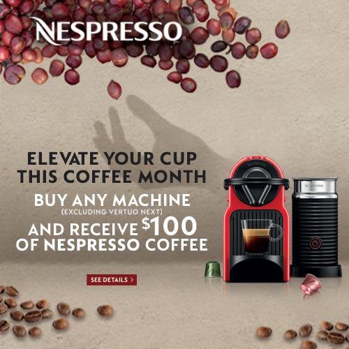 Shop Nespresso Promotion