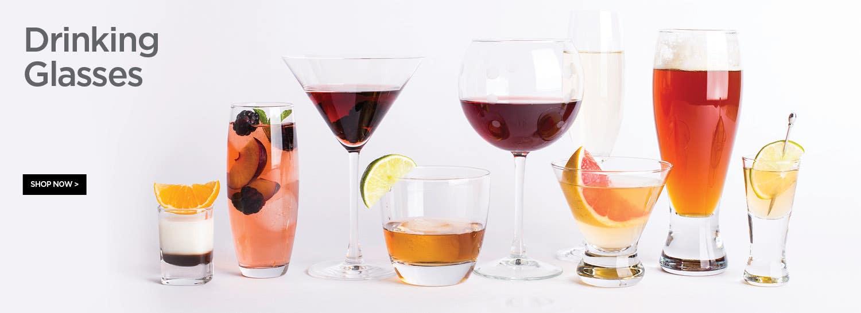 Shop Drinking Glasses