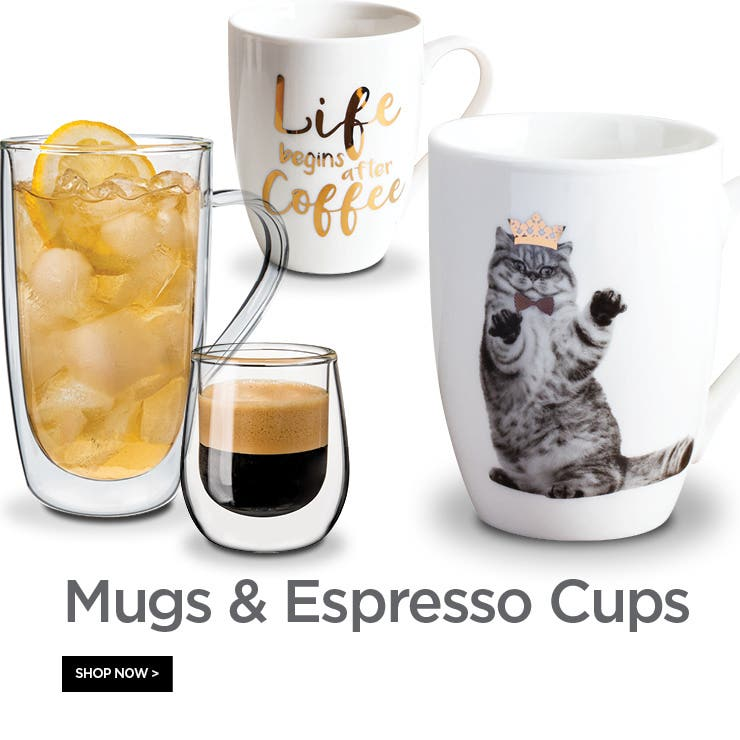 Shop Mugs & Espresso Cups