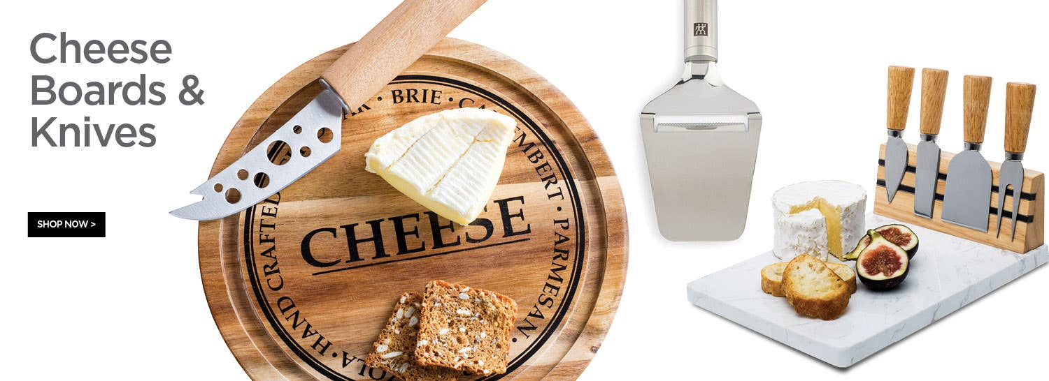 Shop Cheese Boards & Knives