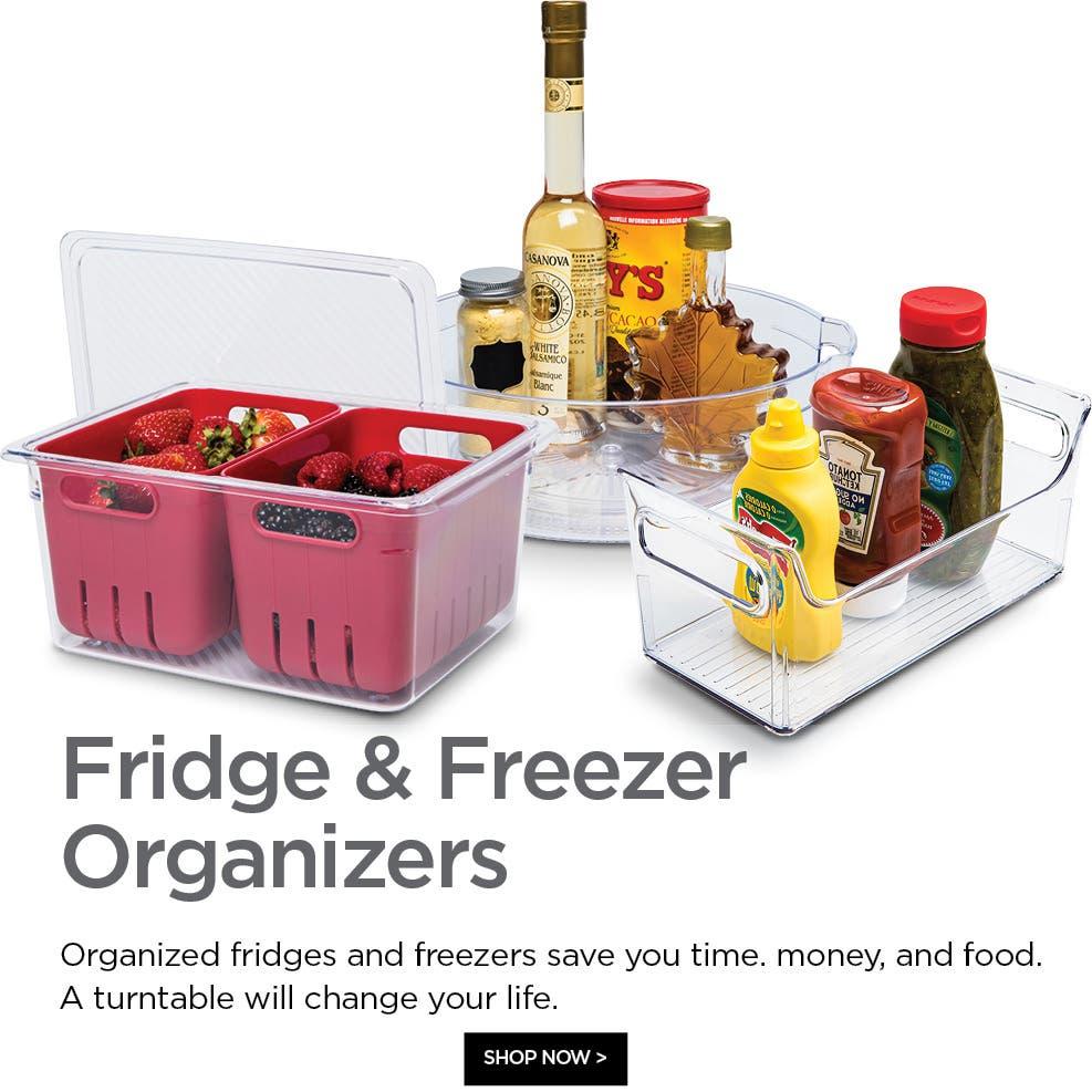 Shop Fridge & Freezer Organizers