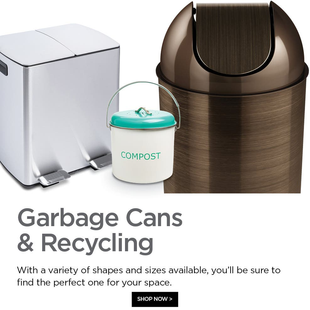 Shop Garbage Cans & Recycling