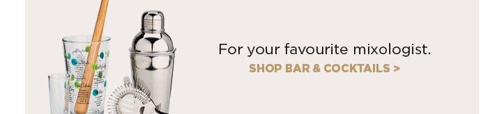 For your favourite mixologist - sop bar & cocktails