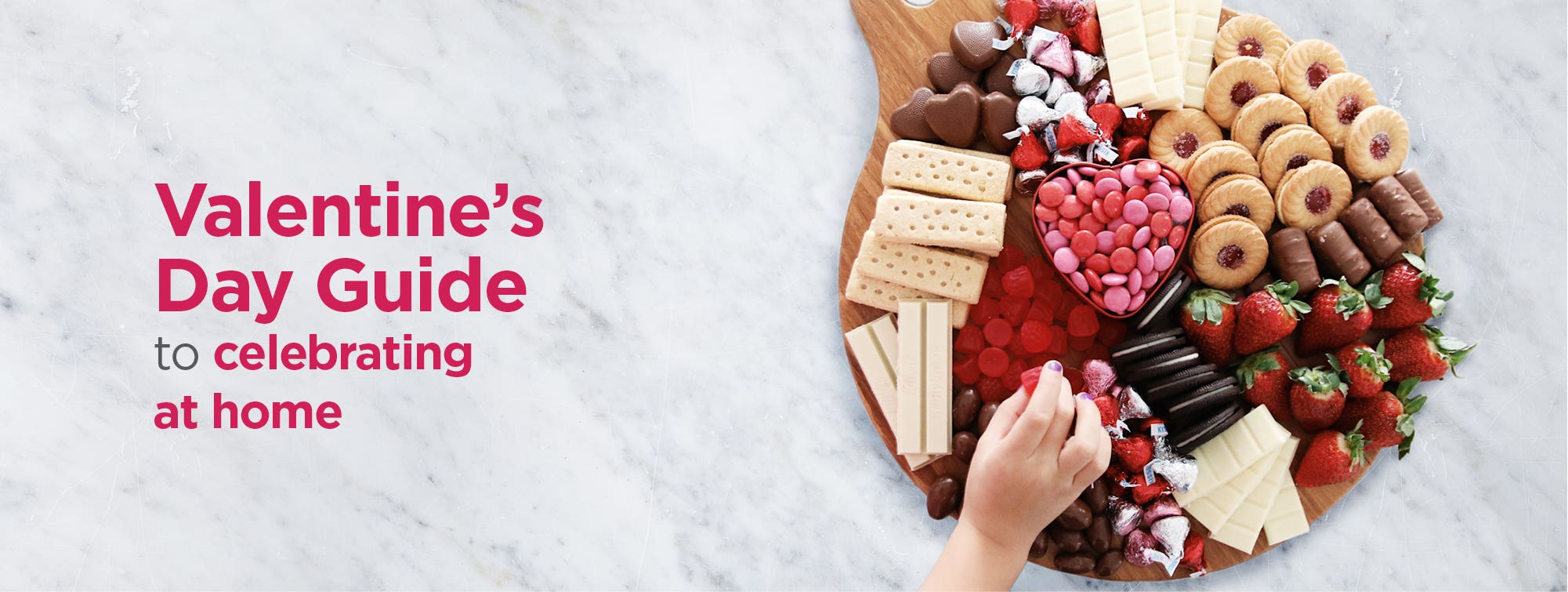Valentine's Day Guide to celebrating at home
