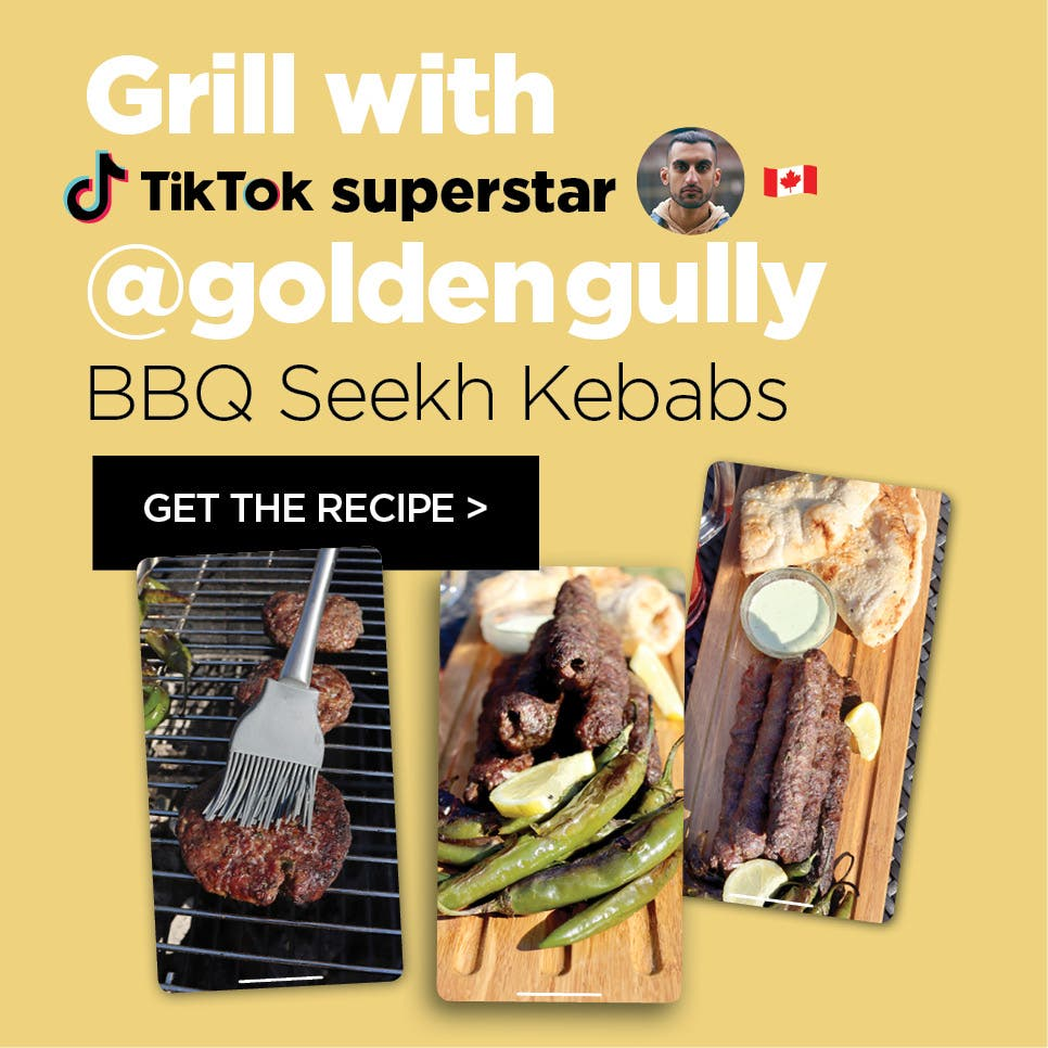 Grill with goldengully – BBQ Seekh Kebabs
