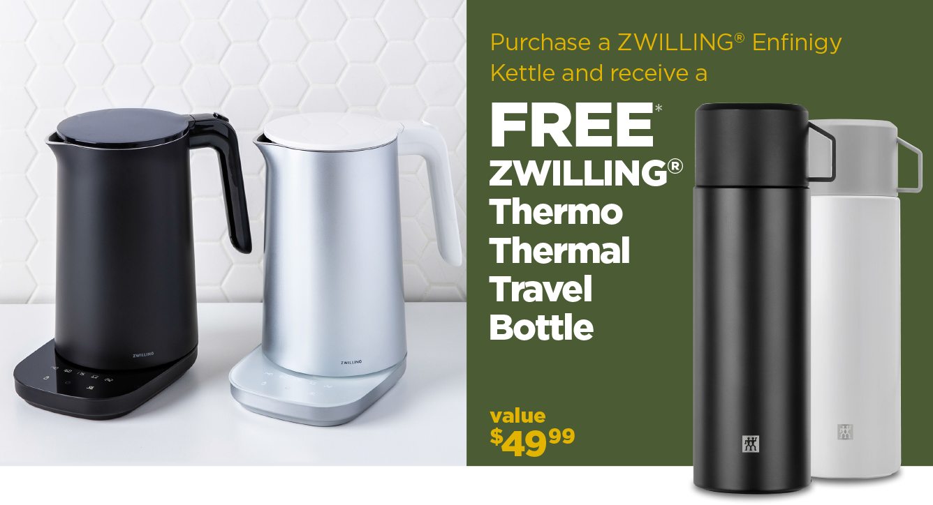 Purchase a Kettle get a free Travel Water Bottle