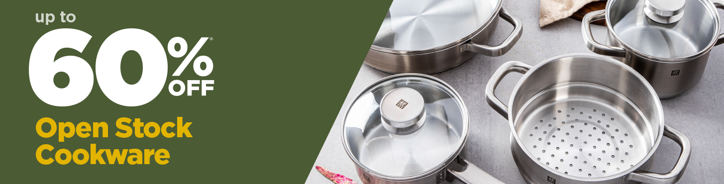 4 pieces of open stock cookware