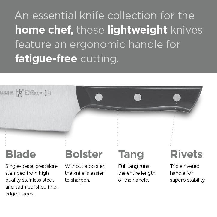 Henckels Dynamic Knife Collection
