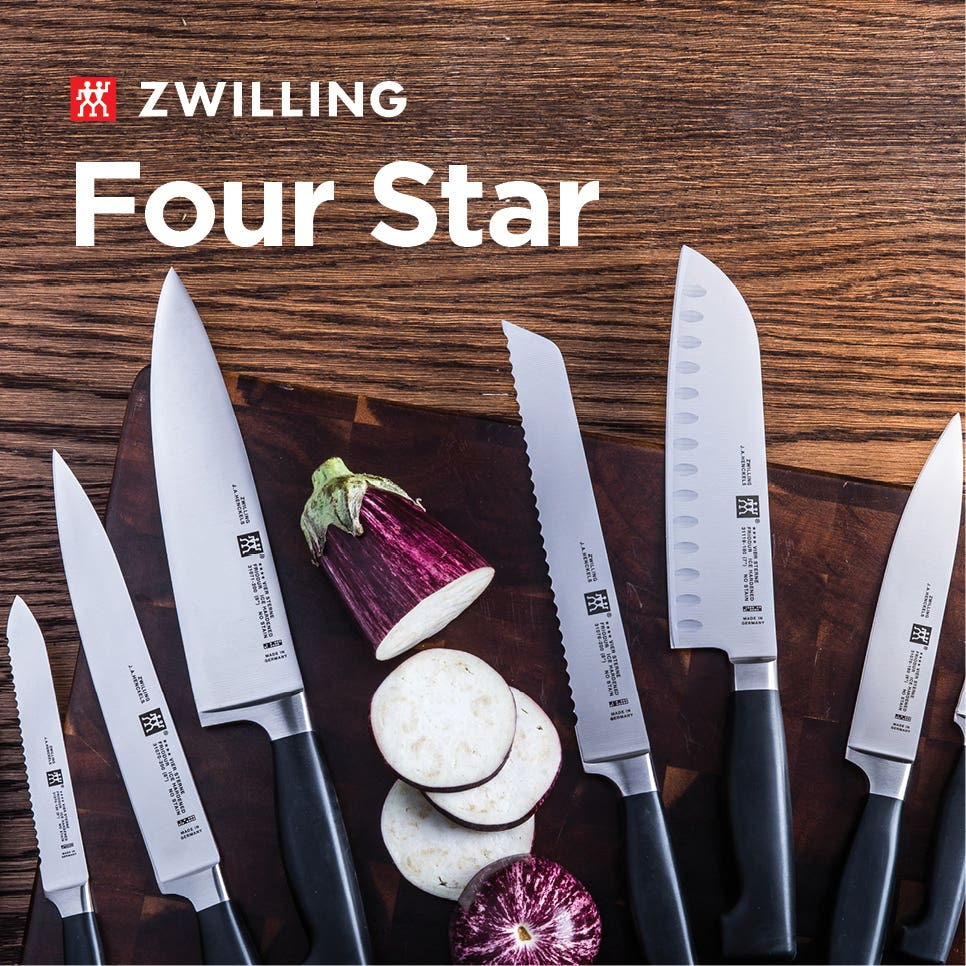 ZWILLING 4-Star Knife Collection