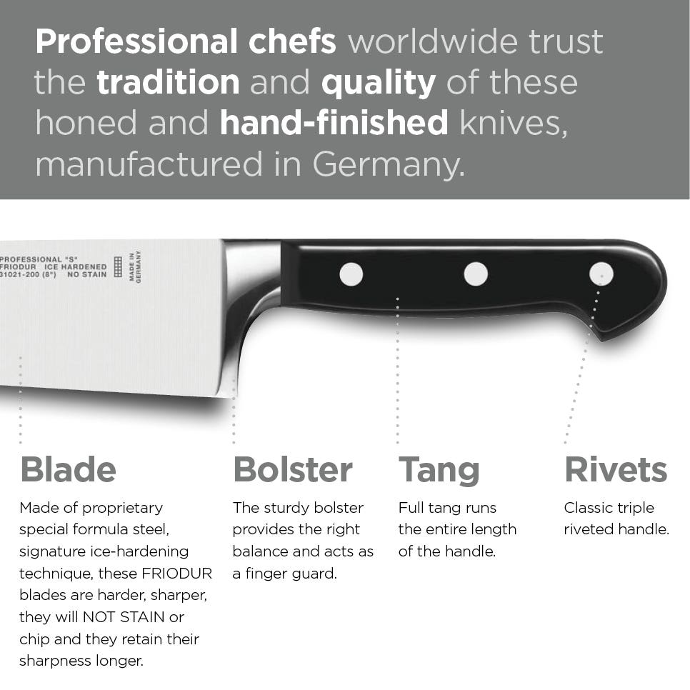 ZWILLING Pro S Knife Collection