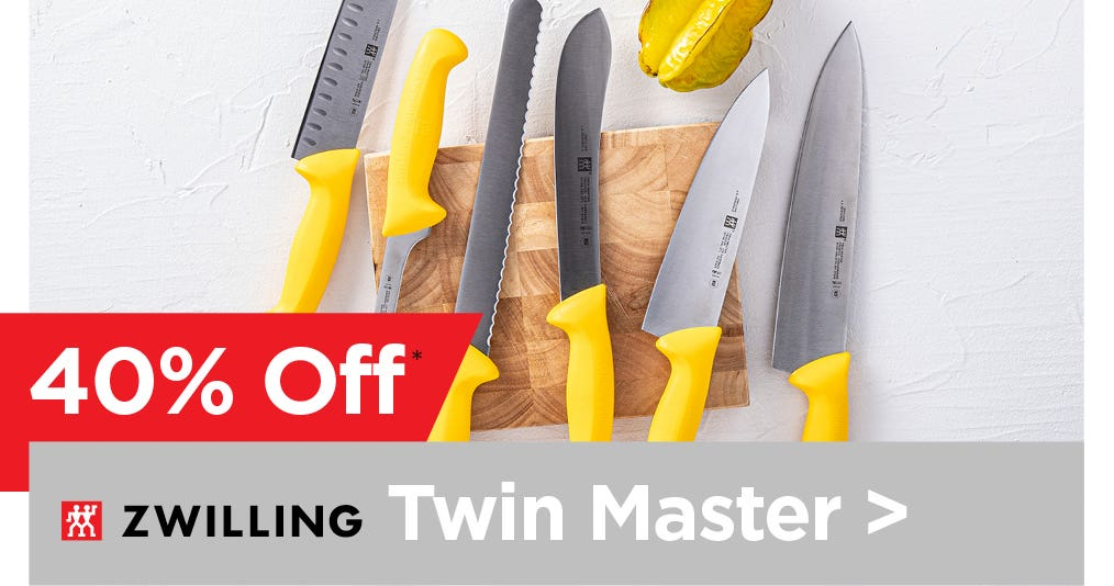 ZWILLING Twin Master Knife Collection - 40% Off