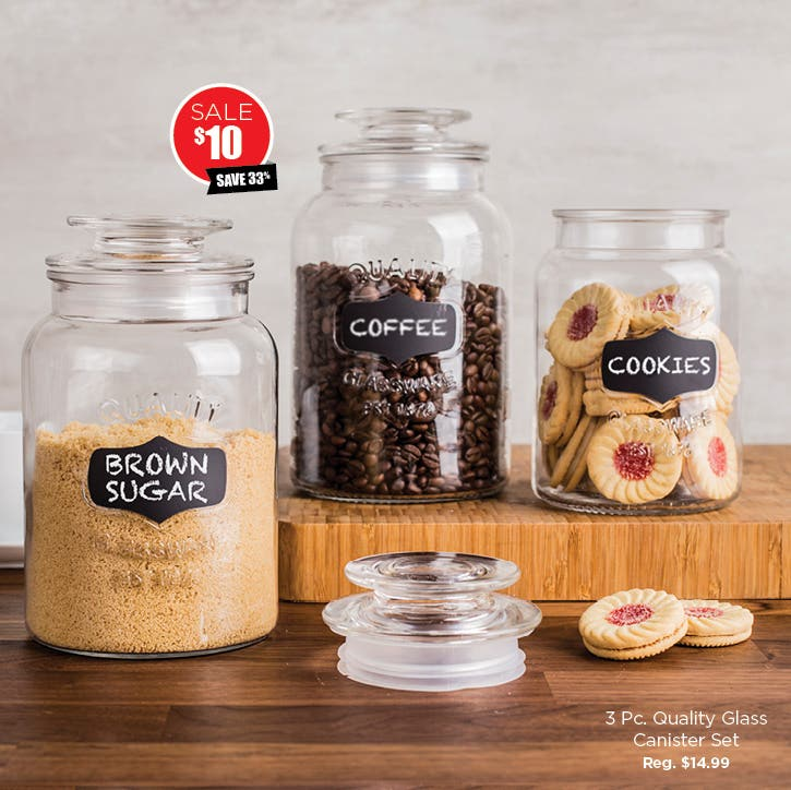 Shop Canisters & Canister Sets