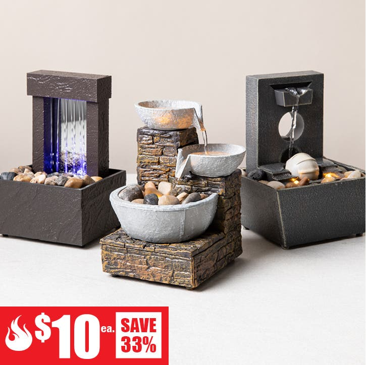 $10 Red Hot Deals - Fifth Season Tranquility Mini Meditation Fountain (each sold seperately)