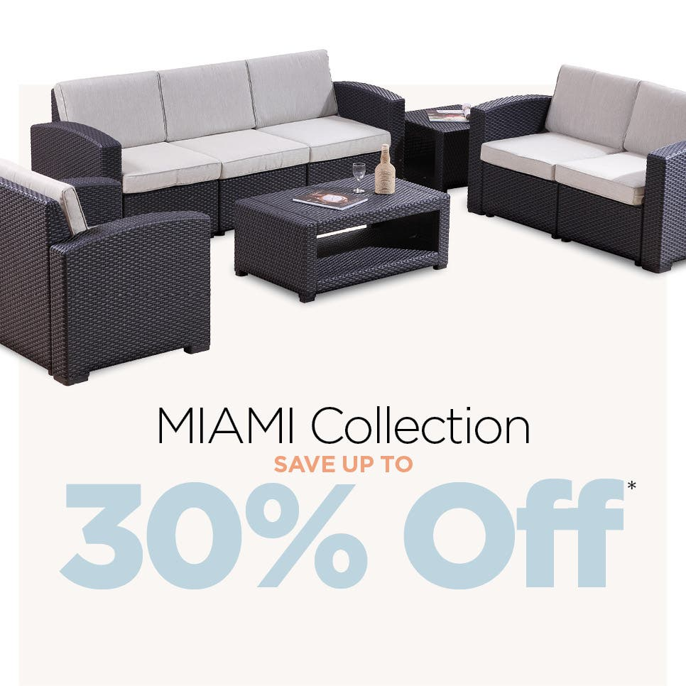 Shop MIAMI Collection - Save up to 30% Off