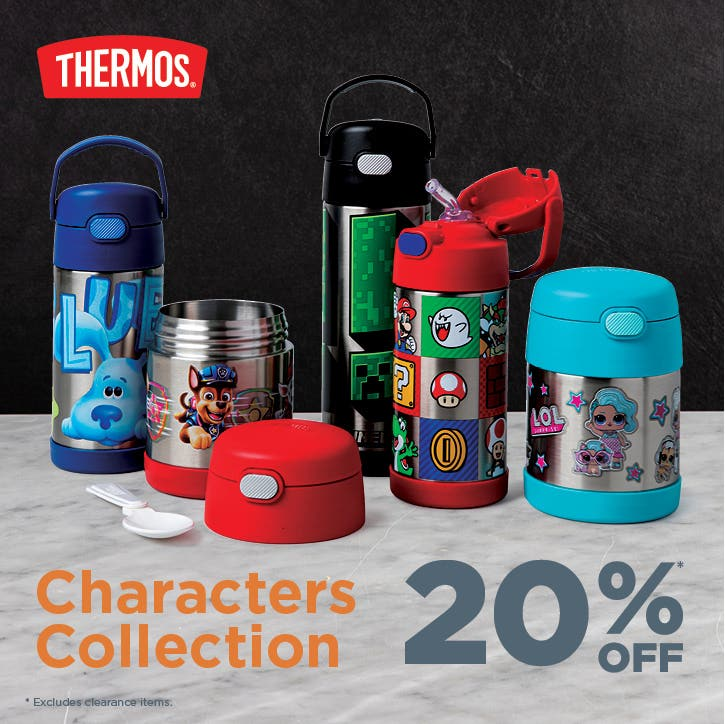 Shop Thermos Character Collection – 20% Off