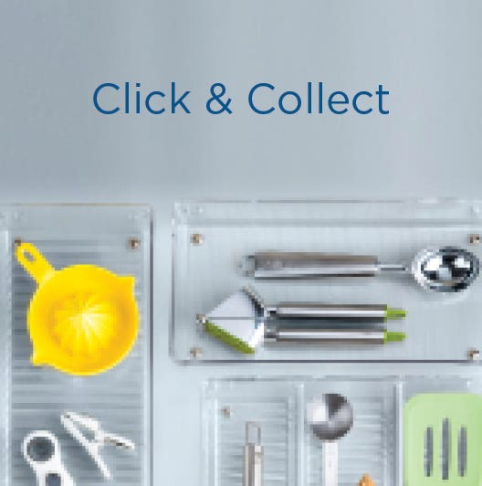 Shop Click & Collect and get your stuff the same day!