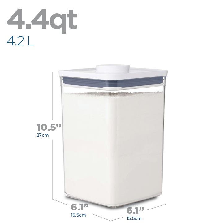 OXO Good Grips Pop 4.2L'Square' Storage Canister