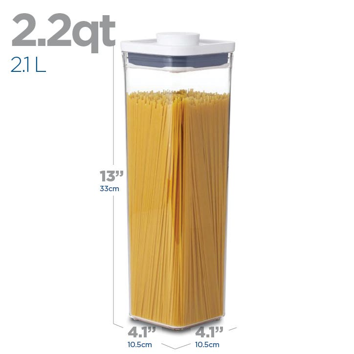 OXO Good Grips Pop 2.1L 'Tall' Square Storage Canister