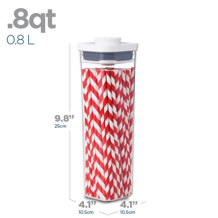 OXO Good Grips Pop .8L Square Storage Canister
