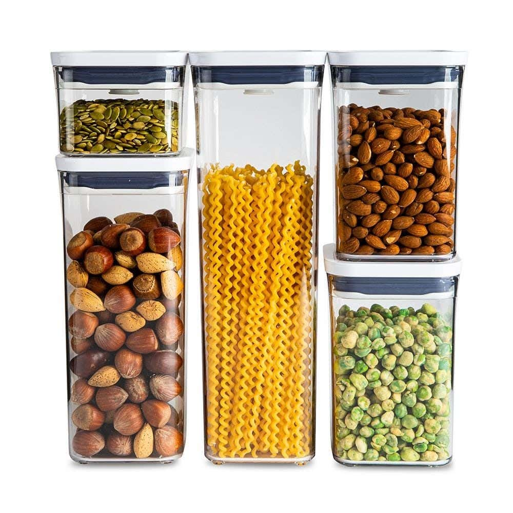 OXO Good Grips Pop Square Storage Canister Combo Set of 5