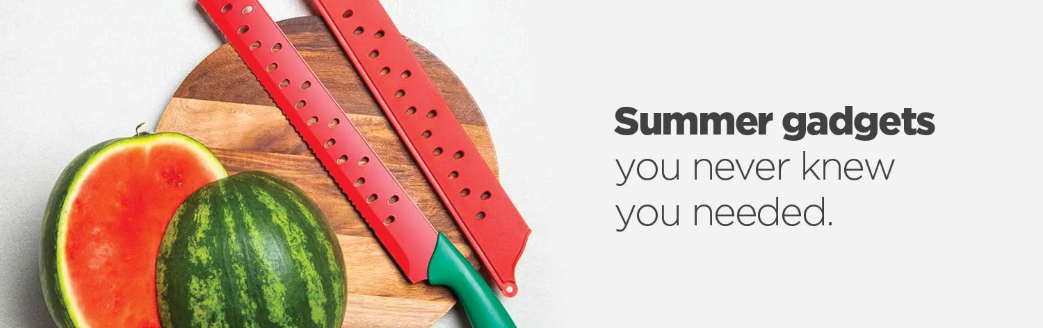 Fun Summer Gadgets - shop the gadgets you never knew you needed.