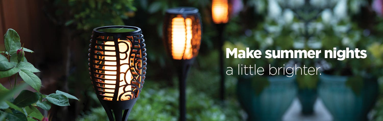 Make summer nights a little brighter - shop lanterns and lighting.