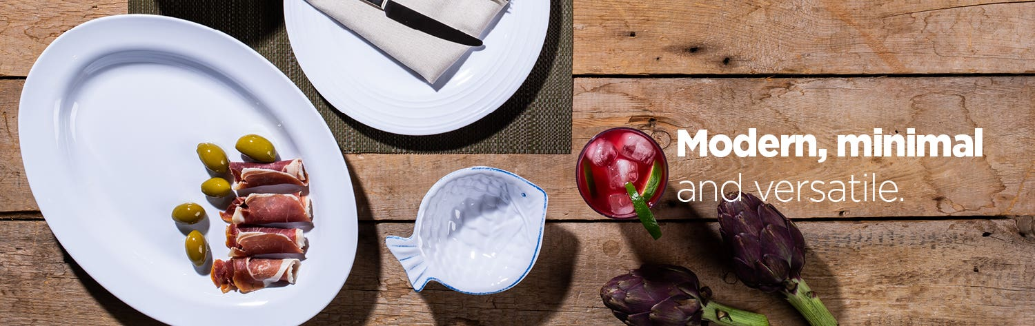 Meridian Collection - Your summer dinnerware staple.