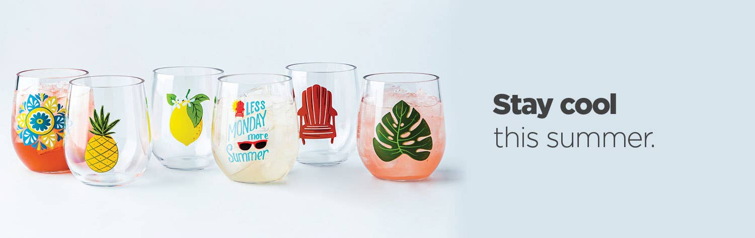 Stay cool this summer – shop outdoor drinkware