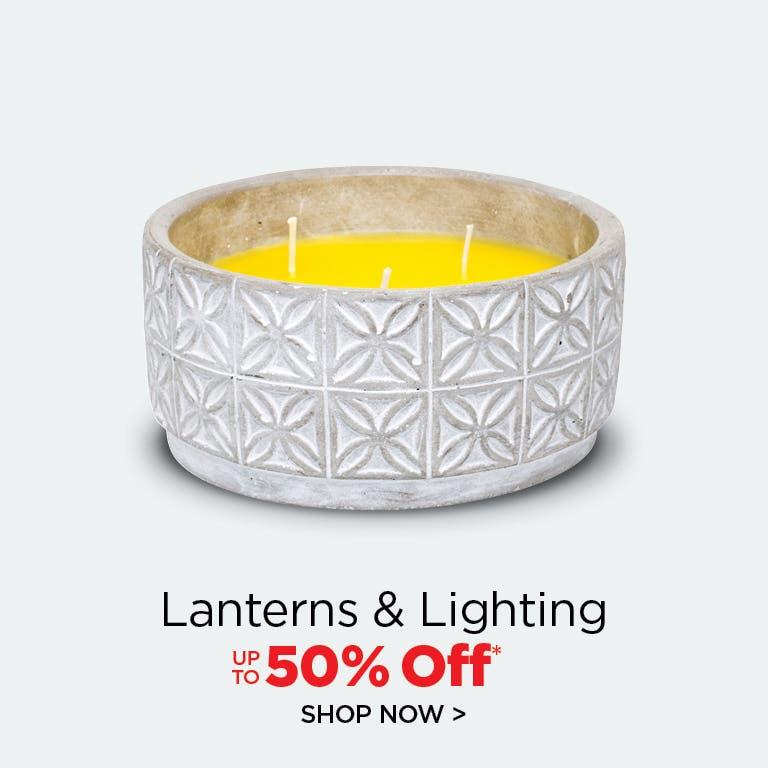 Shop Lanterns & Lighting - up to 25% Off