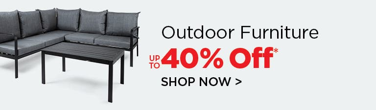 Shop Outdoor Furniture - up to 40% Off