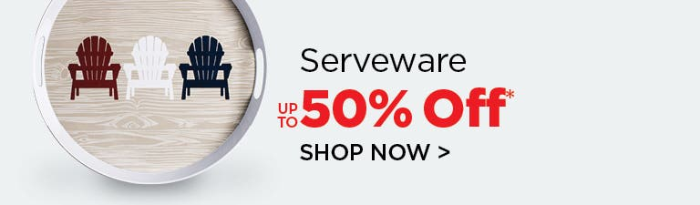 Shop Outdoor Serveware - up to 50% Off