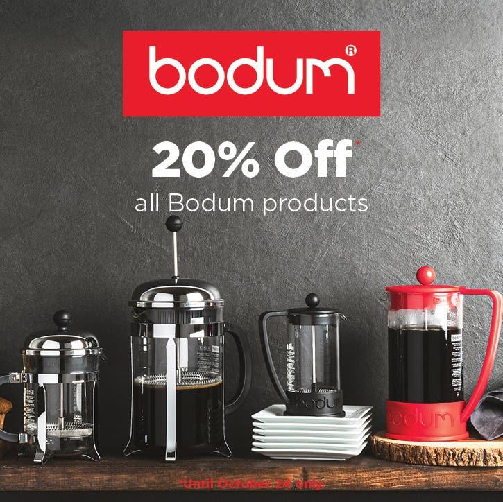 20% Off Bodum