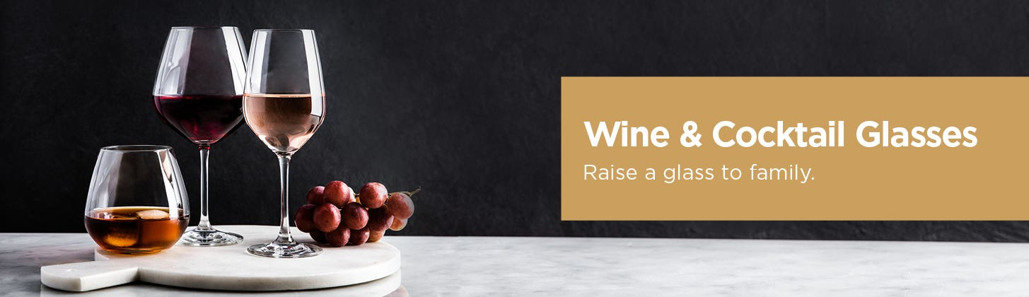 Wine & Cocktail Glasses