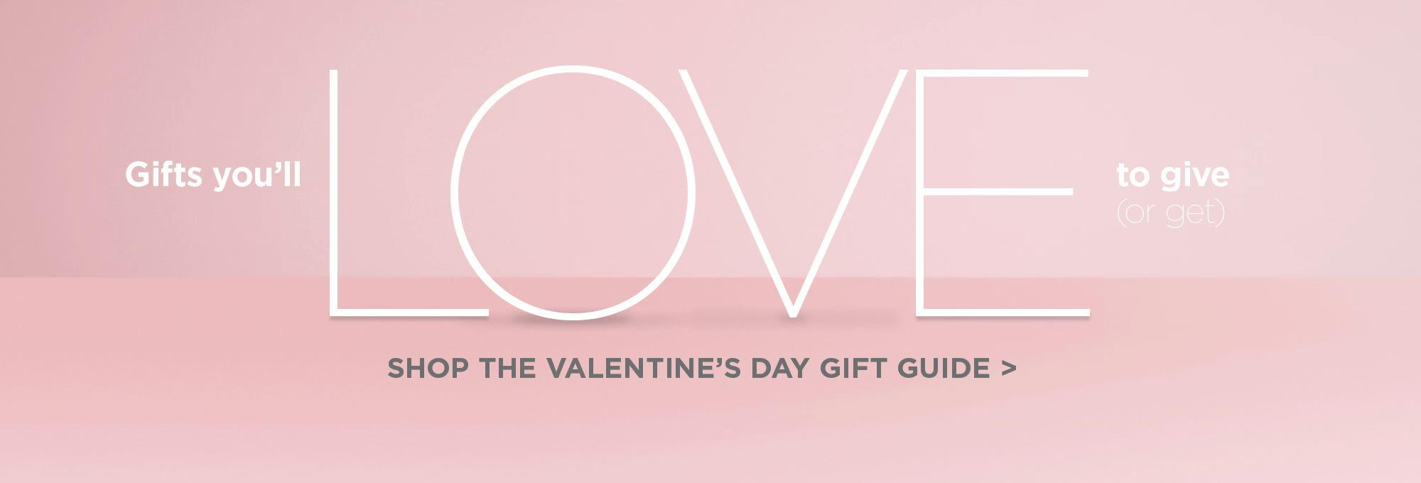 Shop the Valentine's Day Gift Guide